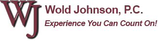 Wold Johnson, P.C., experience you can count on!